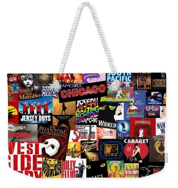 Broadway 3 Weekender Tote Bag