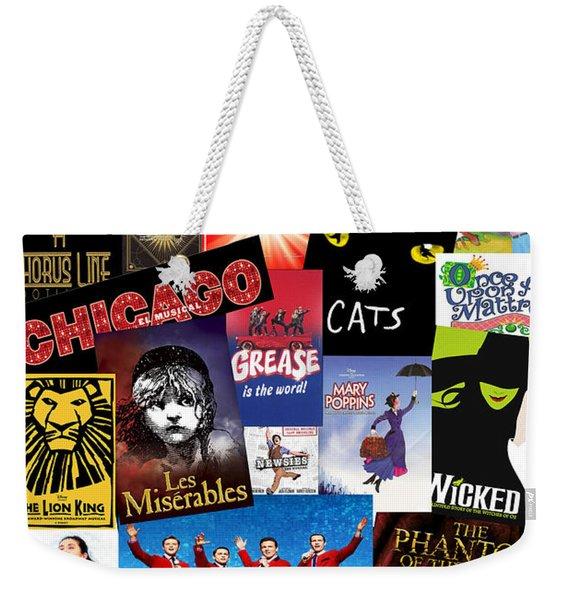 Broadway 8 Weekender Tote Bag