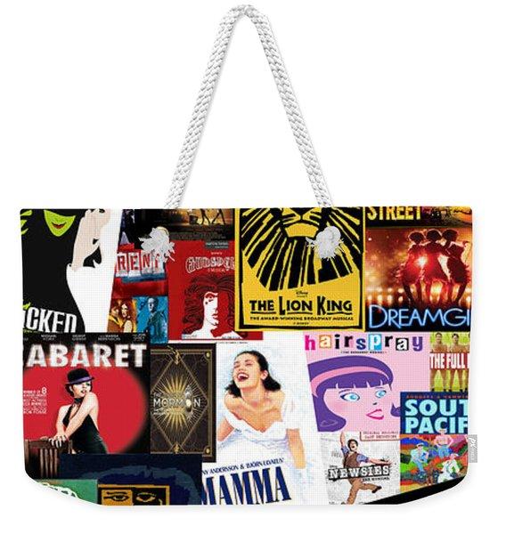 Broadway 9 Weekender Tote Bag