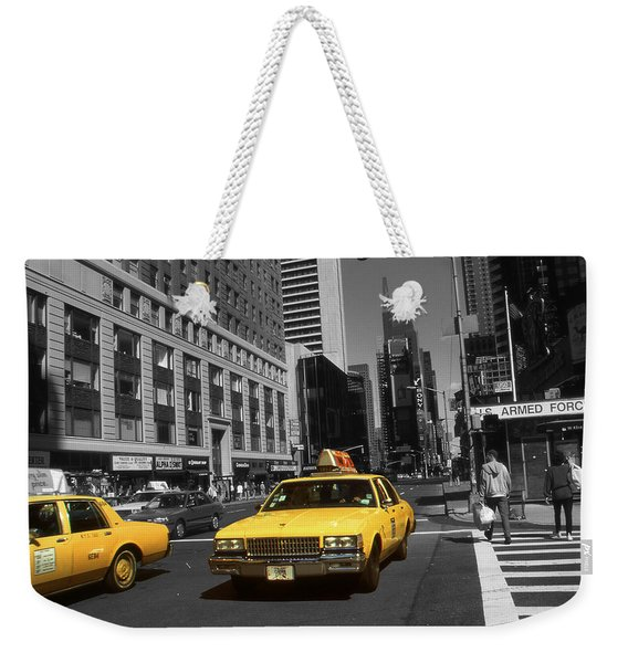 New York Yellow Taxi Cabs - Highlight Photo Weekender Tote Bag