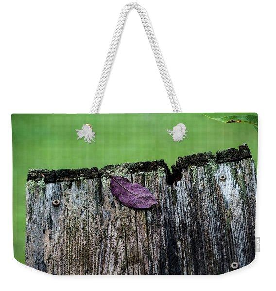 Brock's Leaf Weekender Tote Bag