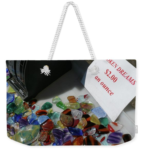 Weekender Tote Bag featuring the photograph Broken Dreams For Sale by Frank DiMarco