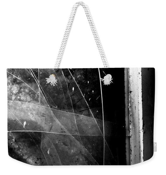 Broken Glass Window Weekender Tote Bag