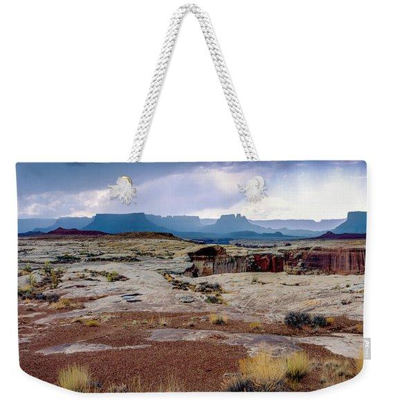 Brooding Sky Summer Storm Weekender Tote Bag