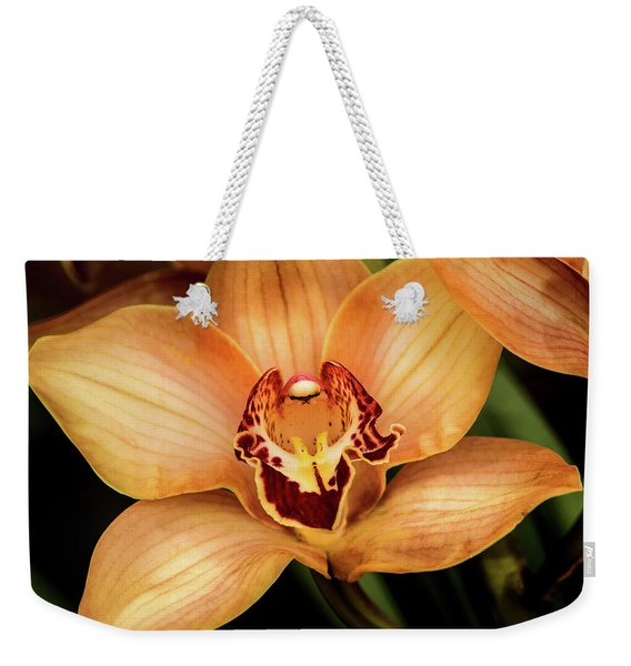 Brookside Orchid Weekender Tote Bag