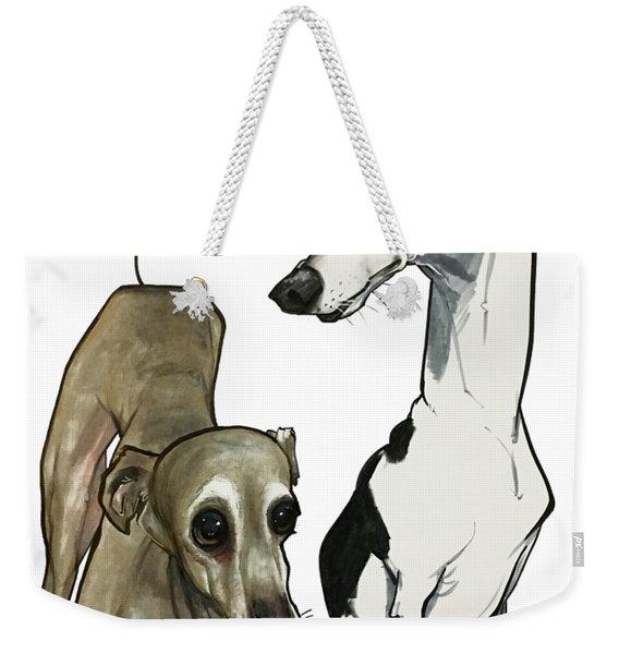 Brown 7-1512 Weekender Tote Bag