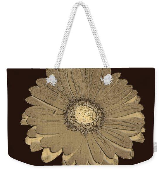 Brown Art Weekender Tote Bag