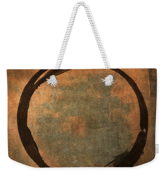 Brown Enso Weekender Tote Bag