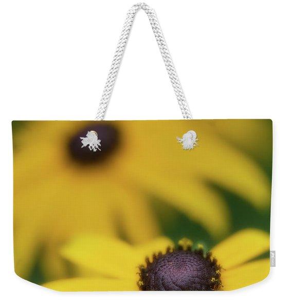 Brown Eyed Susan Weekender Tote Bag