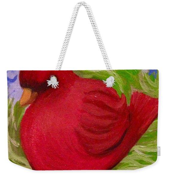Brrr Bird Weekender Tote Bag