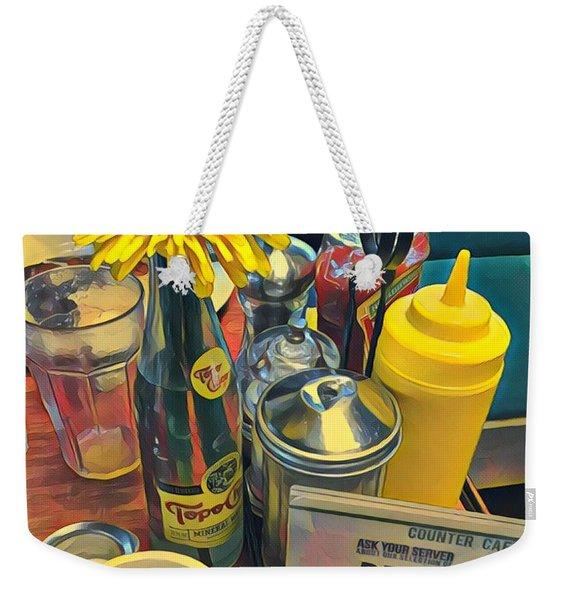 Brunch At Counter Cafe Weekender Tote Bag