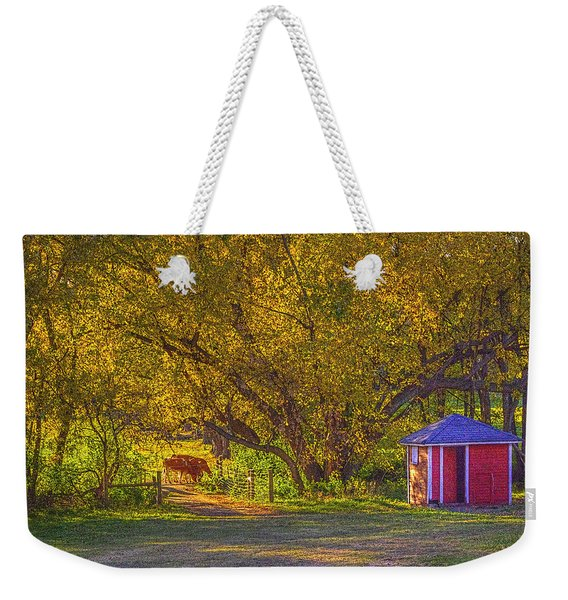 Brunner Organic Family Farm Weekender Tote Bag