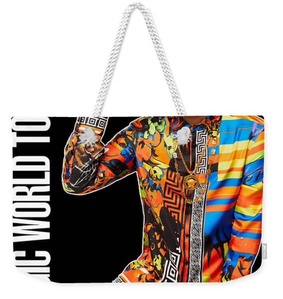 Bruno Mars 24k Magic Tour 2018 Ysf01 Weekender Tote Bag