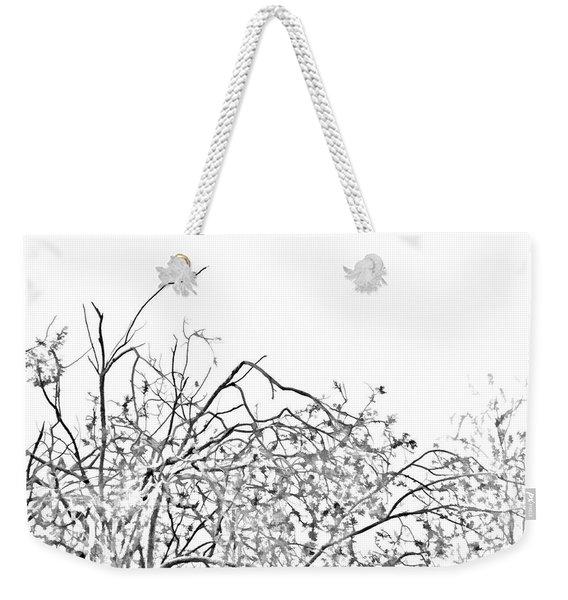 Brush Weekender Tote Bag