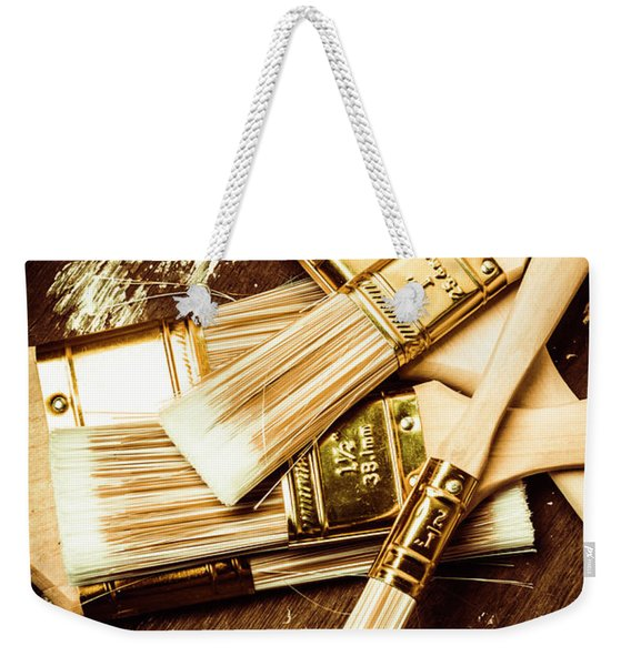 Brushes Of Interior Decoration Weekender Tote Bag