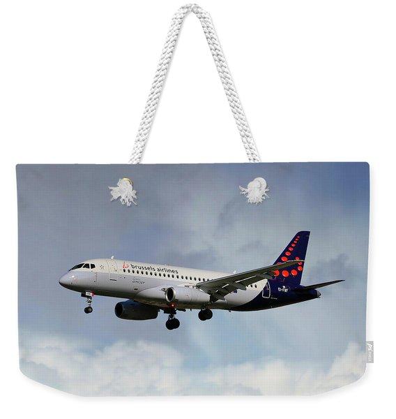 Brussels Airlines Sukhoi Superjet 100-95b Weekender Tote Bag
