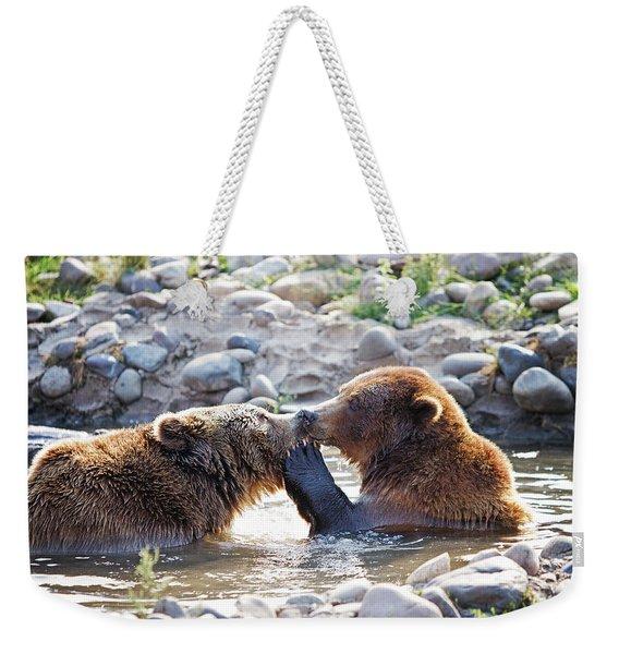 Brutus Loves Lucy Weekender Tote Bag