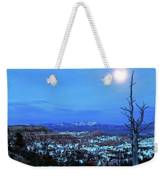 Bryce Blue Weekender Tote Bag