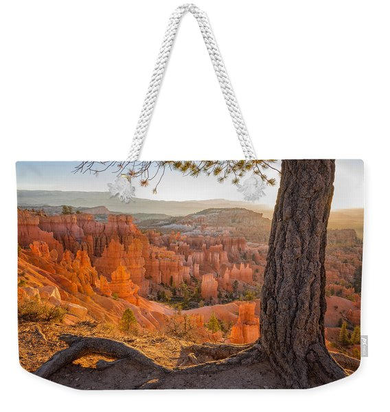 Bryce Canyon National Park Sunrise 2 - Utah Weekender Tote Bag