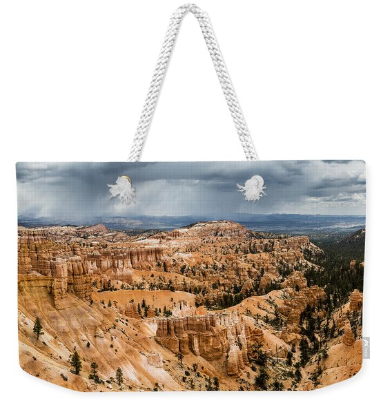 Bryce Canyon Storm Weekender Tote Bag