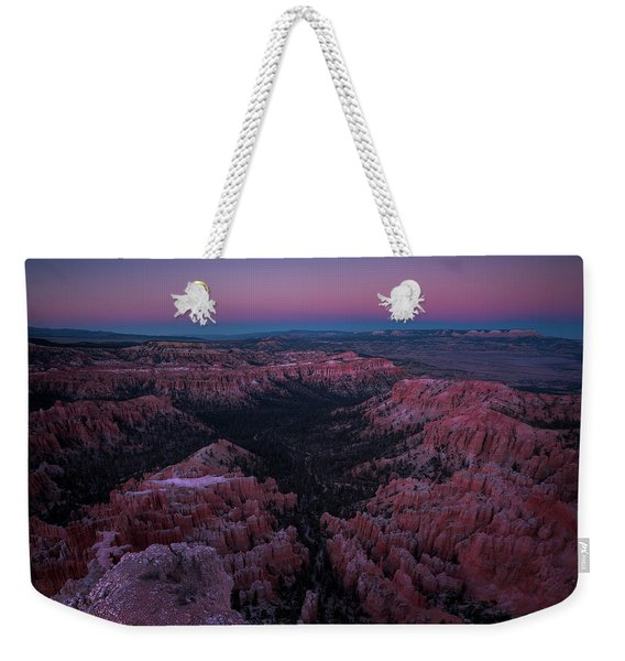 Bryce Point Weekender Tote Bag