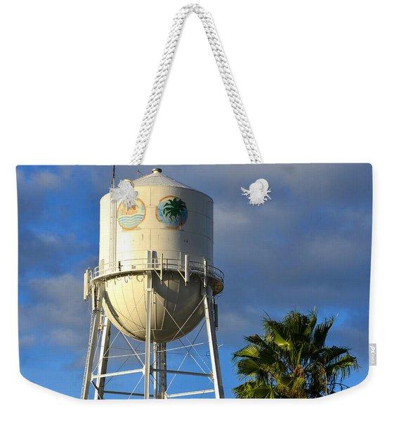 Bradenton Florida's Water Tower Weekender Tote Bag