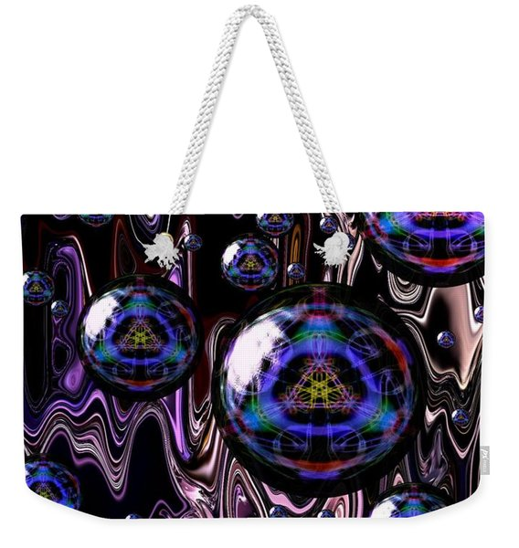 Bubble Abstract 1a Weekender Tote Bag