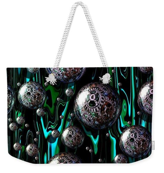 Bubble Abstract 1e Weekender Tote Bag