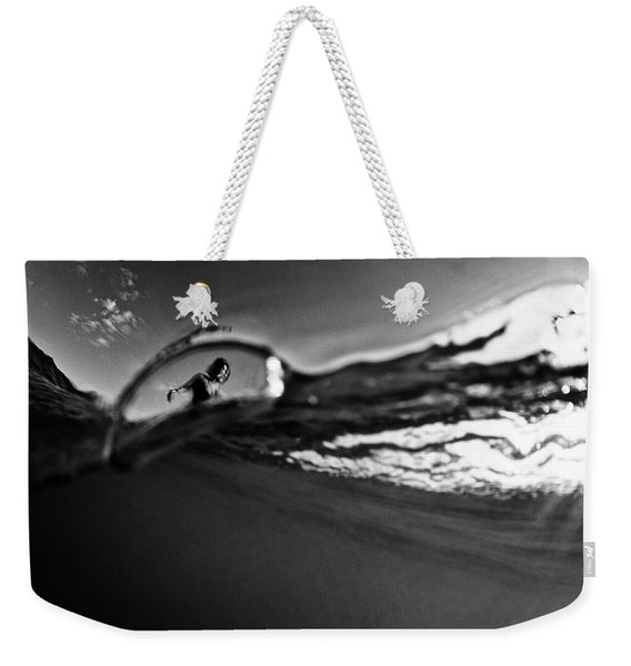 Bubble Surfer Weekender Tote Bag
