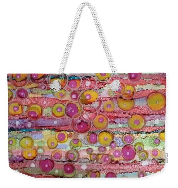 Bubble World Weekender Tote Bag