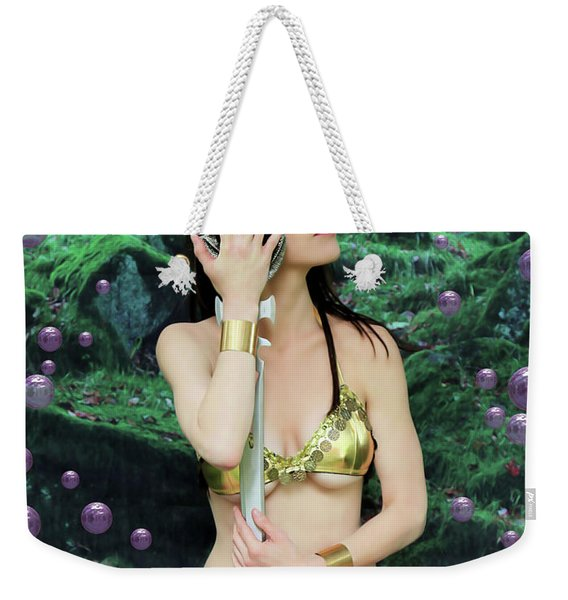 Bubbles And Sword Weekender Tote Bag