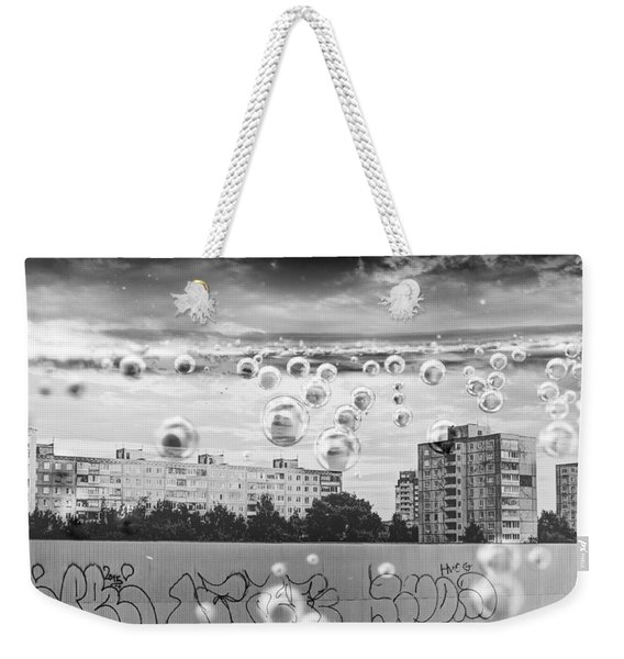 Bubbles And The City Weekender Tote Bag
