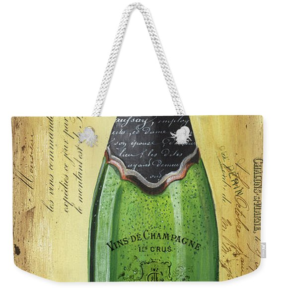Bubbly Champagne 2 Weekender Tote Bag