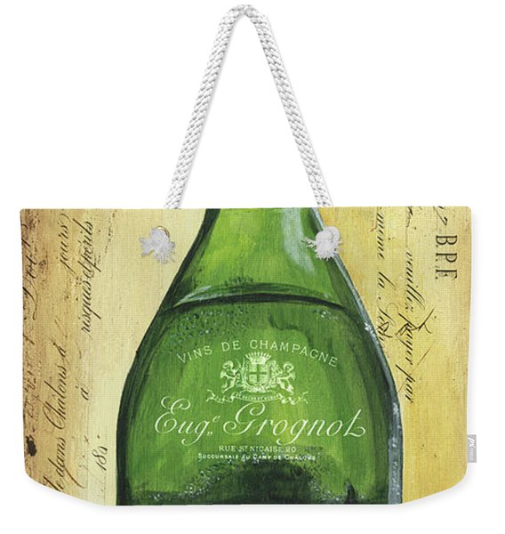 Bubbly Champagne 3 Weekender Tote Bag