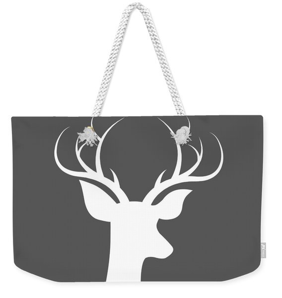 Buck Deer Weekender Tote Bag