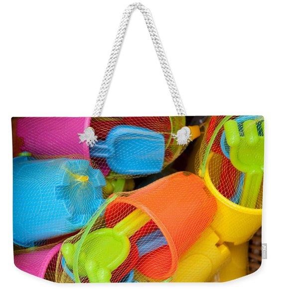 Buckets And Spades Weekender Tote Bag