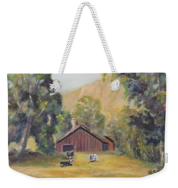 Bucks County Pa Barn Weekender Tote Bag