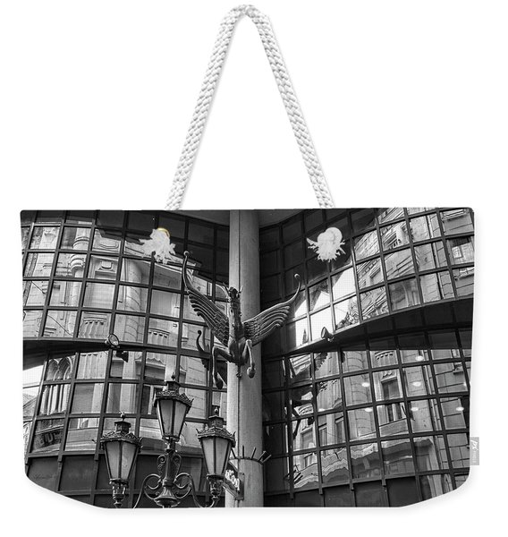 Budapest Reflections Weekender Tote Bag