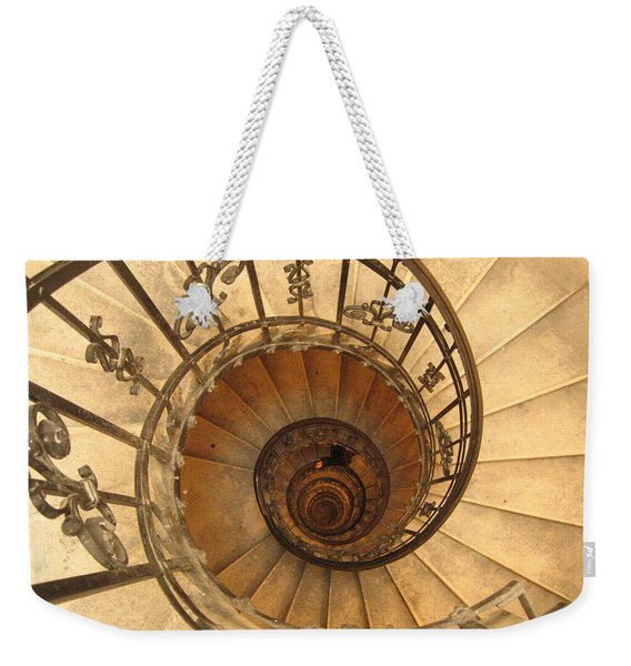 Budapest Staircase Weekender Tote Bag