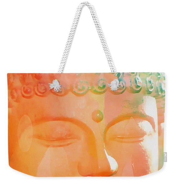 Buddah Glow Weekender Tote Bag