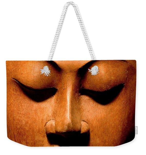 Buddha Calm Weekender Tote Bag