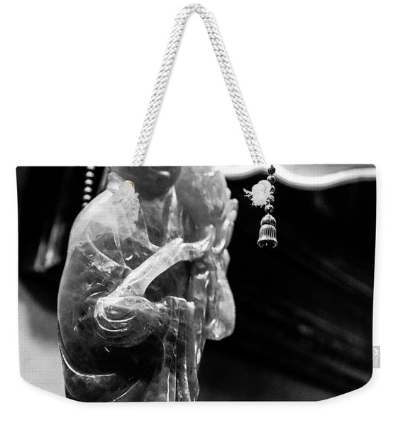 Buddha's Light Weekender Tote Bag