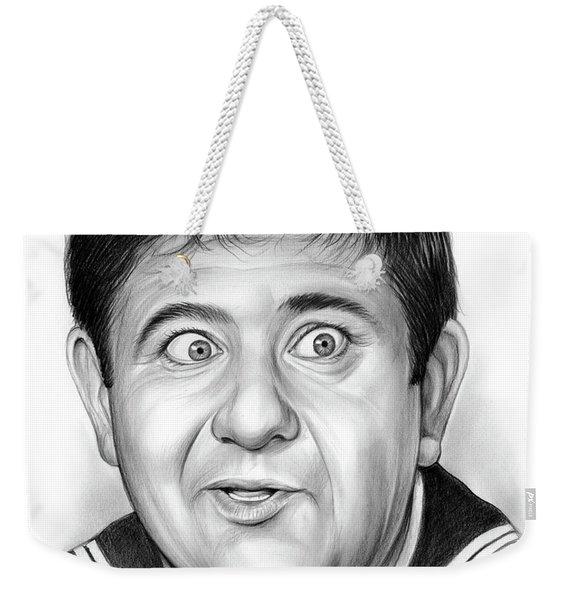 Buddy Hackett Weekender Tote Bag