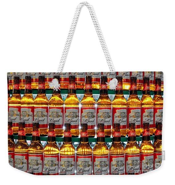 Budweiser Weekender Tote Bag