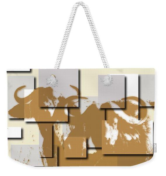 Buffalo 5 Weekender Tote Bag