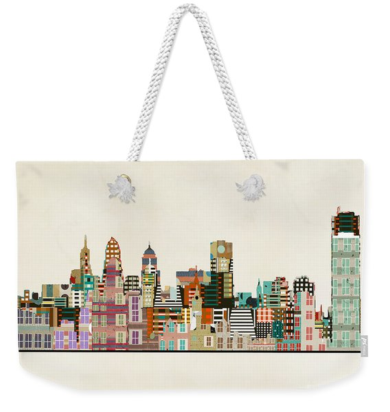 Buffalo City New York Weekender Tote Bag