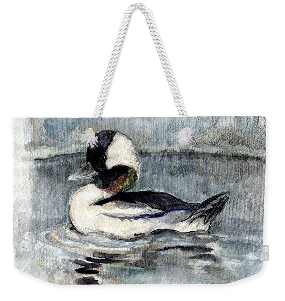 Bufflehead Weekender Tote Bag