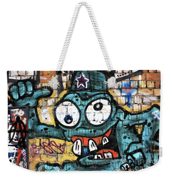 Bug-eyed In Berlin Weekender Tote Bag