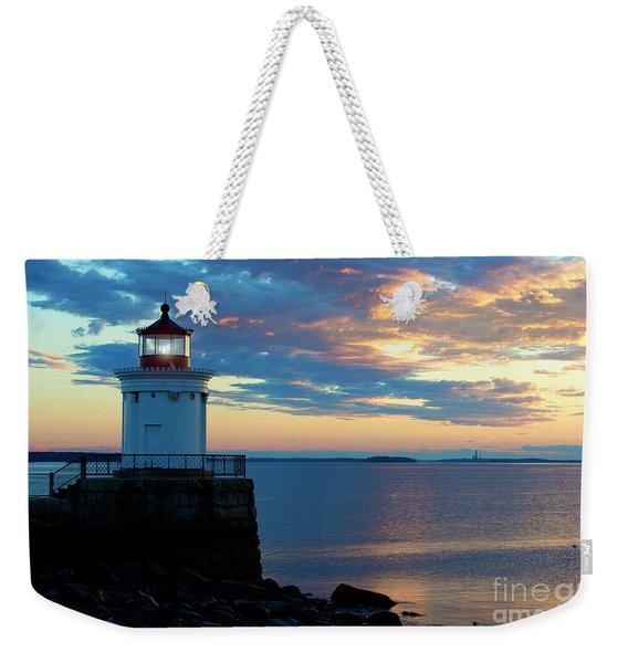 Bug Light, Portland Maine Weekender Tote Bag