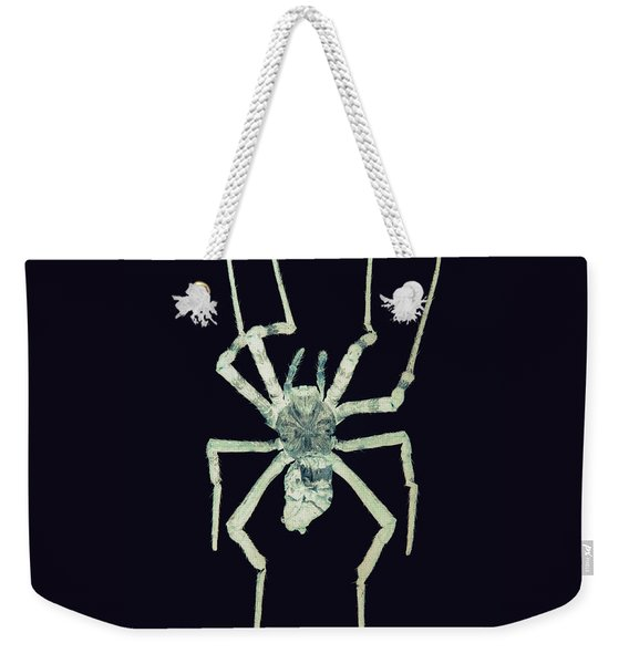 Weekender Tote Bag featuring the photograph Bug Series 024 by Clayton Bastiani